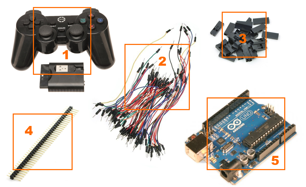 PlayStation 2 Controller Arduino Library - Society of